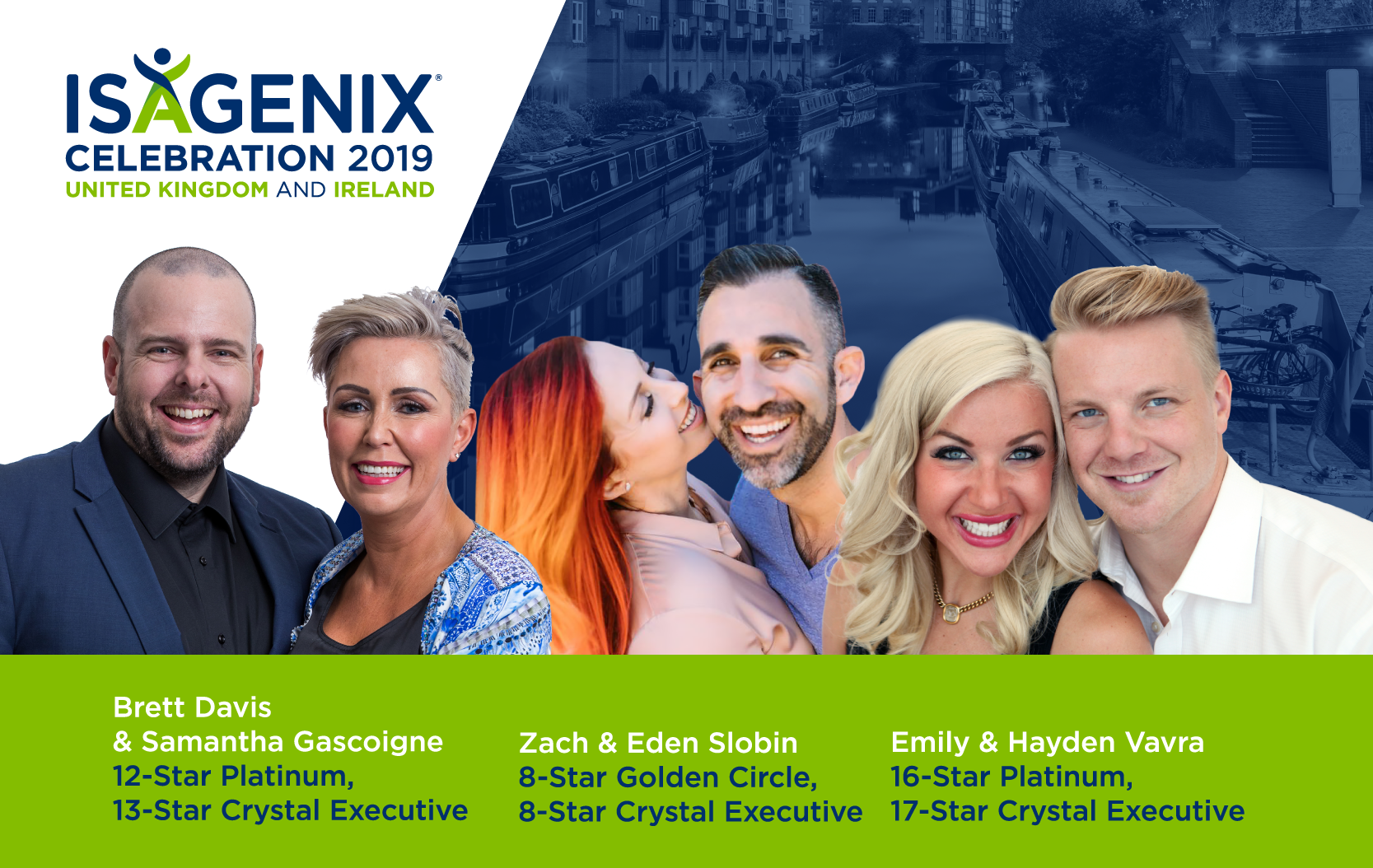 UK Ireland Isagenix Celebration Speakers