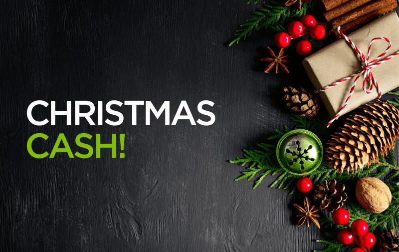 Christmas Cash Isagenix Europe
